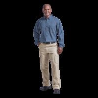 Men's Denim Shirt Long Sleeve - Penmark Hospitality