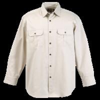 Men's Bush Shirt Long Sleeve - Penmark Hospitality