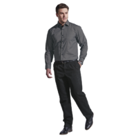 Men's Saga Lounge Shirt Long Sleeve - Penmark Hospitality